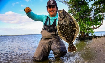 Lawson Lindsey – Wade Fishing Inshore For BIG Flounder (Catch & Cook)