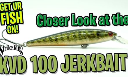 Closer Look at the Strike Kindg KVD 100 Jerkbait – Bass Fishing Lures