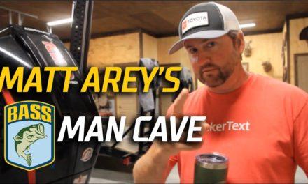 Bassmaster – Matt Arey's Ultimate Man Cave