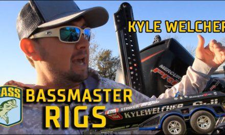 Bassmaster – RIGS: Kyle Welcher's 2020 Bassmaster Elite Series boat (Ranger 520L)