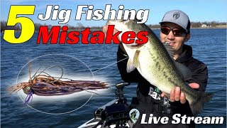 FTM Livestream #71 | Why New Jig Fisherman Don't Catch Bass