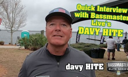 DAVY HITE from B.A.S.S. Bassmaster LIVE – EXTRA INTERVIEW