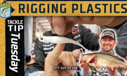 Bassmaster – Rigging your elastic soft plastics correctly with Jeff Gustafson