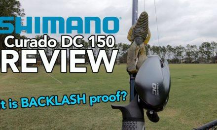 Shimano Curado DC 150 Review – Shimano Ci4 vs Shimano Curado DC? No Backlashes?