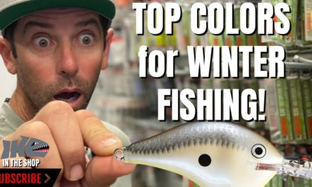 Mike Iaconelli Secret Tips & Tactics – TOP COLORS for WINTER FISHING!