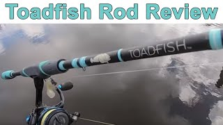 Salt Strong   – Toadfish Spinning Rod Review (Top 3 Pros & Cons)