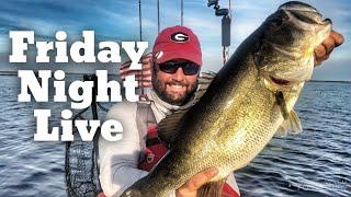 FlukeMaster – Friday Night Live – Bass Fishing