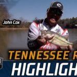 Bassmaster – John Cox lands his limit on Day 1 at Fort Loudoun