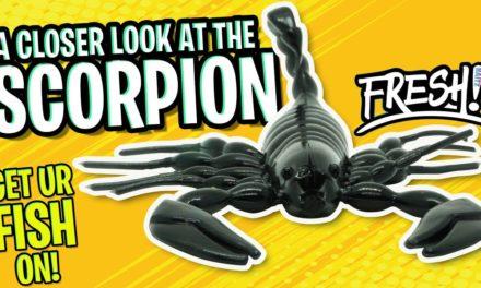 Can a SCORPION BAIT catch BASS? Fresh Baitz Scorpion Soft Plastic Bait