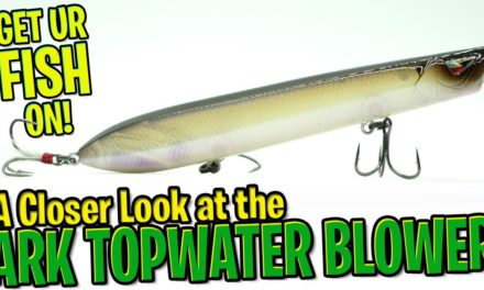 Closer Look at the Team Ark Topwater Blower Bass Fishing Lure