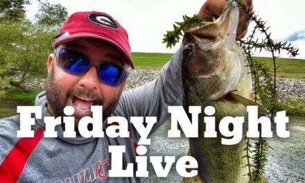 FlukeMaster – Friday Night Live – Late Winter Bass Fishing