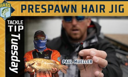 Bassmaster – Throwing small hair jigs in the prespawn with Paul Mueller