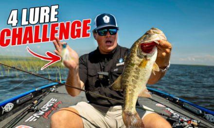 Scott Martin Pro Tips – 4 LURE CHALLENGE on Lake Okeechobee