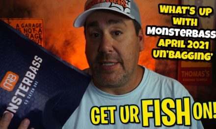 Is Monsterbass THE BEST TACKLE SUBSCRIPTION BOX? April 2021 Unboxing.
