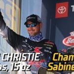 Bassmaster – Jason Christie wins Bassmaster Elite at Sabine River