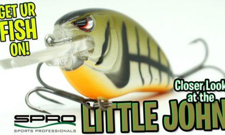 Loudest Sounding Crankbait? Spro Little John Type R Bass Fishing Lure