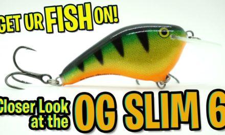 Ott's Garage Slim 6 Crankbait – NEW Rapala OG SLIM 6 Bass Fishing Lure