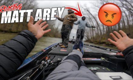 Scott Martin Pro Tips – ROASTING Matt Arey on the Water – Arey Bass Therapy