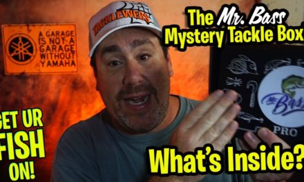 The MR. BASS MYSTERY TACKLE BOX Unboxing and Opening