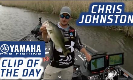 Bassmaster – Yamaha Clip of the Day: Chris Johnston staying in striking distance on Day 3