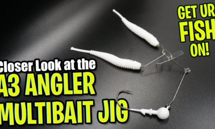 Closer Look at the A3 Anglers Multibait Bass Fishing A-Rig Bait