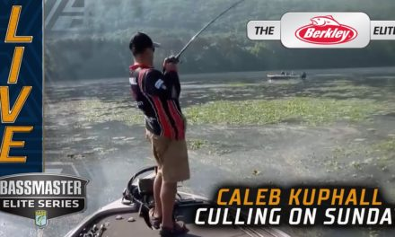 Bassmaster – Kuphall is Culling! (FINAL DAY LEADER)