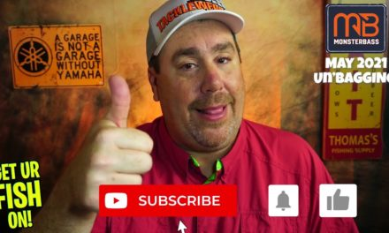 May 2021 Monsterbass Subscription Bass Fishing Tackle Unboxing UNDERWATER VIDEO
