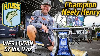 Bassmaster – Wes Logan wins Bassmaster Elite at Neely Henry