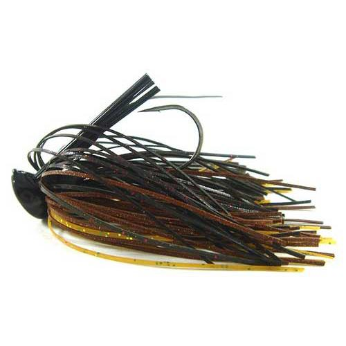 Buckeye Flat Top Finesse Jig 1/2oz Gold Craw